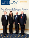 UNH Law Alumni Magazine, Summer 2013 by University of New Hampshire School of Law