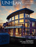 UNH Law Alumni Magazine, Winter 2012