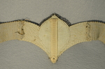 Belt, early 20th century, detail of back of main element by Irma G. Bowen Historic Clothing Collection