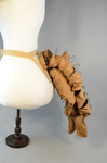Bustle with wire coils, c. 1885, side view by Irma G. Bowen Historic Clothing Collection