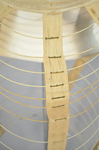 Cage crinoline with bustle, 1868-1873, detail by Irma G. Bowen Historic Clothing Collection