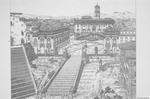 Piazza del Campidoglio: Drawing