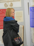 New Hampshire State Supreme Court Librarian Mary Searles at the symposium