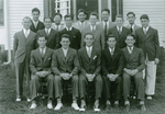 Phi Alpha Fraternity, ca. 1937 by Clement Moran