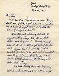 Letter from William De Witt Snodgrass to Louis Untermeyer, September 20, 1962 by Snodgrass, W. D. (William De Witt), 1926-