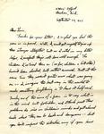 Letter from William De Witt Snodgrass to Louis Untermeyer, September 29, 1962 by Snodgrass, W. D. (William De Witt), 1926-