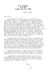 Letter from William De Witt Snodgrass to William Ewert, July 21, 1981 by Snodgrass, W. D. (William De Witt), 1926-
