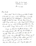 Letter from William De Witt Snodgrass to William Ewert, January 14, 1982 by Snodgrass, W. D. (William De Witt), 1926-