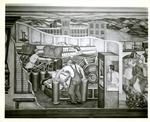 """Industry in New Hampshire"" Mural by Arthur Esner by Esner, Arthur"